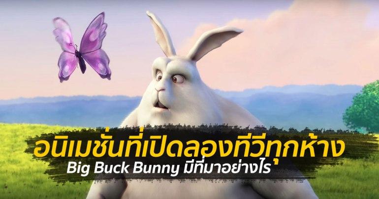 Big Buck Bunny อนิเมชั่นที่ทุกห้างต้องเคยใช้เปิดลอง TV สักครั้ง แต่ทำไมต้องเรื่องนี้? 13 - 3D