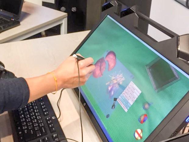 hp zvr 01 650x488 HP Zvr เปิดตัวจอคอม 3 มิติ เจาะผู้ใช้งานด้านการออกแบบ การแพทย์ ออกแบบ 3D กลางอากาศ ตัวแรกของโลก