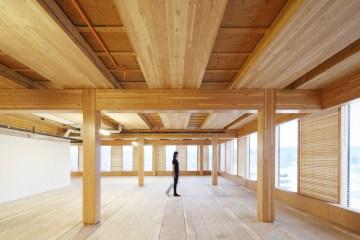 อาคารที่ผลิตจากไม้ล้วนๆ สูงที่สุดในโลก The Wood Innovation Design Centre 17 - Architecture