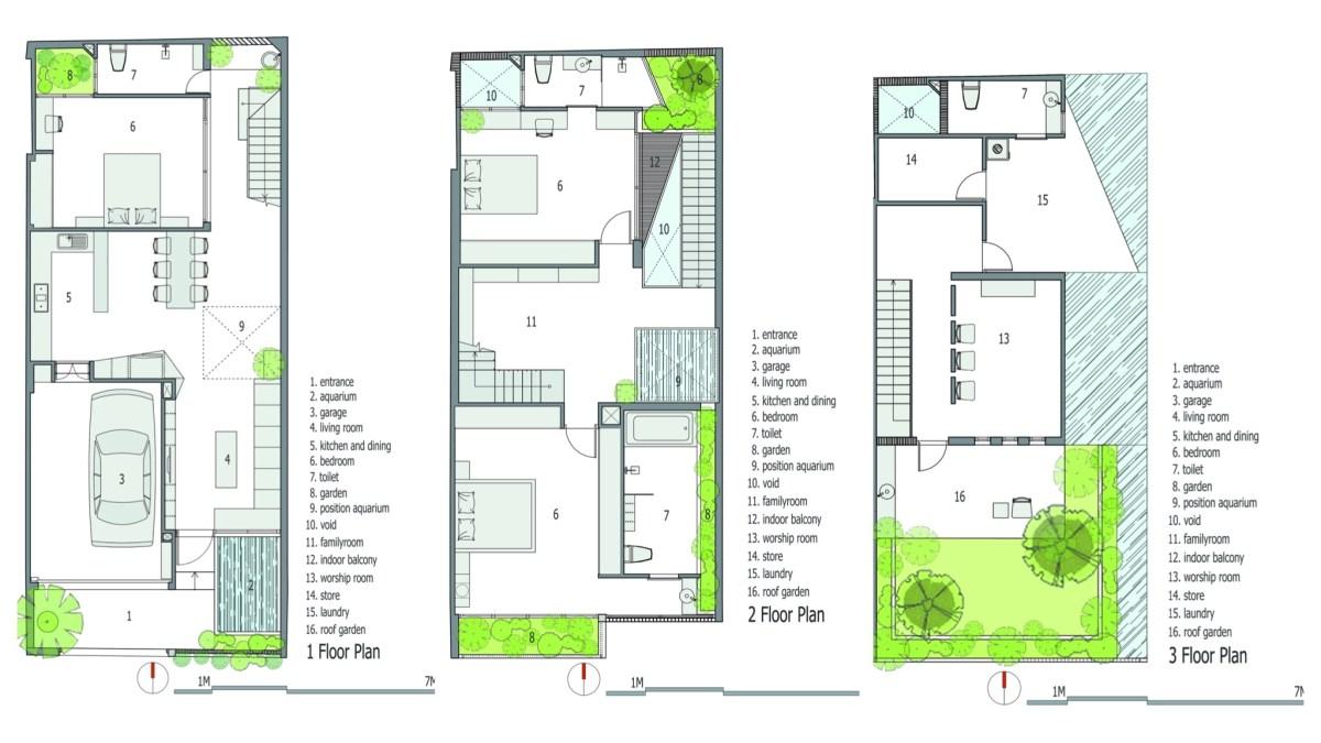 บ้านห้องแถวเล็กๆ ..ก็ดูดีได้ ในงบที่จำกัด 29 - city house