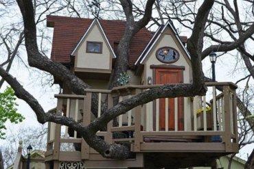 บ้านต้นไม้ในฝันของเด็กๆ หลายคน ลุงป้าสร้างอย่างสุดพลังเพื่อหลาน อลังการอย่างกับสวนสนุก 29 - PEOPLE
