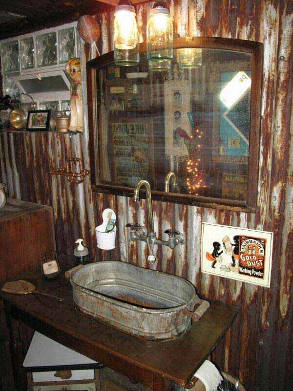 rustic bathroom ideas 4 30 ห้องน้ำที่ไม่ซ้ำบ้านไหนๆ แขกไปใครมาจำได้แน่นอน