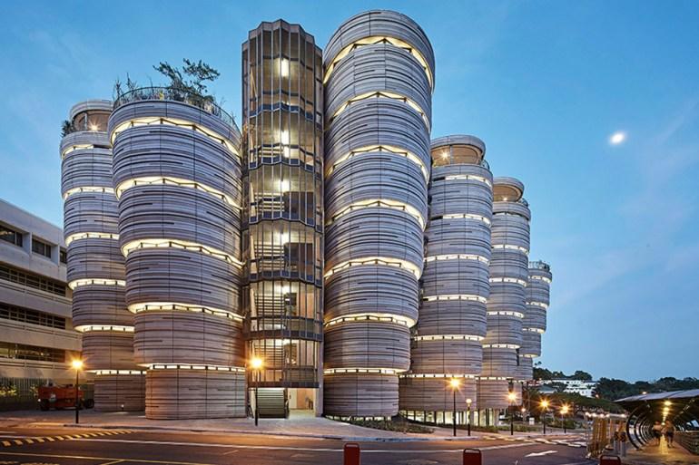"""""""อาคารติ่มซำ"""" โครงสร้างผนังคอนกรีตหล่อแนวๆ Learning Hub/Heatherwick Studio 14 - building"""