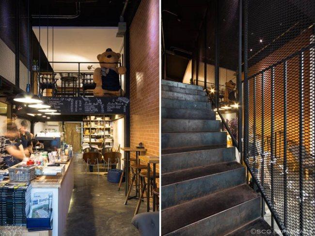 scg renovate coffee cafe3 650x488 รีโนเวทตึกแถวเก่า ให้เป็นร้านกาแฟ CASE STUDY COFFEE & EATERY