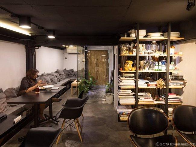 scg renovate coffee cafe4 650x488 รีโนเวทตึกแถวเก่า ให้เป็นร้านกาแฟ CASE STUDY COFFEE & EATERY