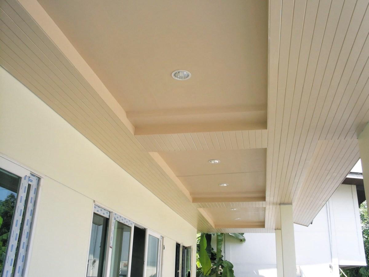 เติมเสน่ห์ให้บ้านผ่านสีสันหรือลวดลายฝ้า เพื่อสร้างลูกเล่นให้ดูไม่จำเจ 24 - ceiling