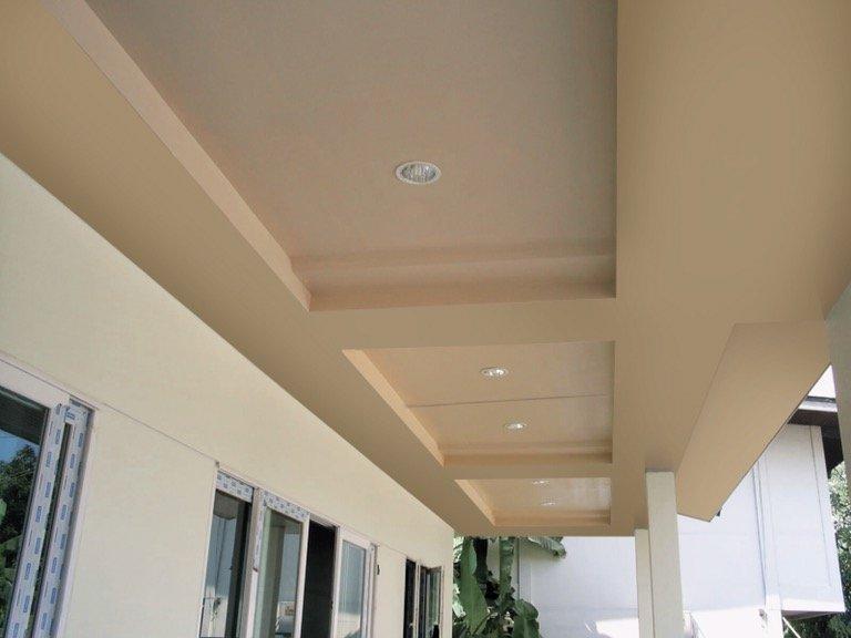 เติมเสน่ห์ให้บ้านผ่านสีสันหรือลวดลายฝ้า เพื่อสร้างลูกเล่นให้ดูไม่จำเจ 23 - ceiling