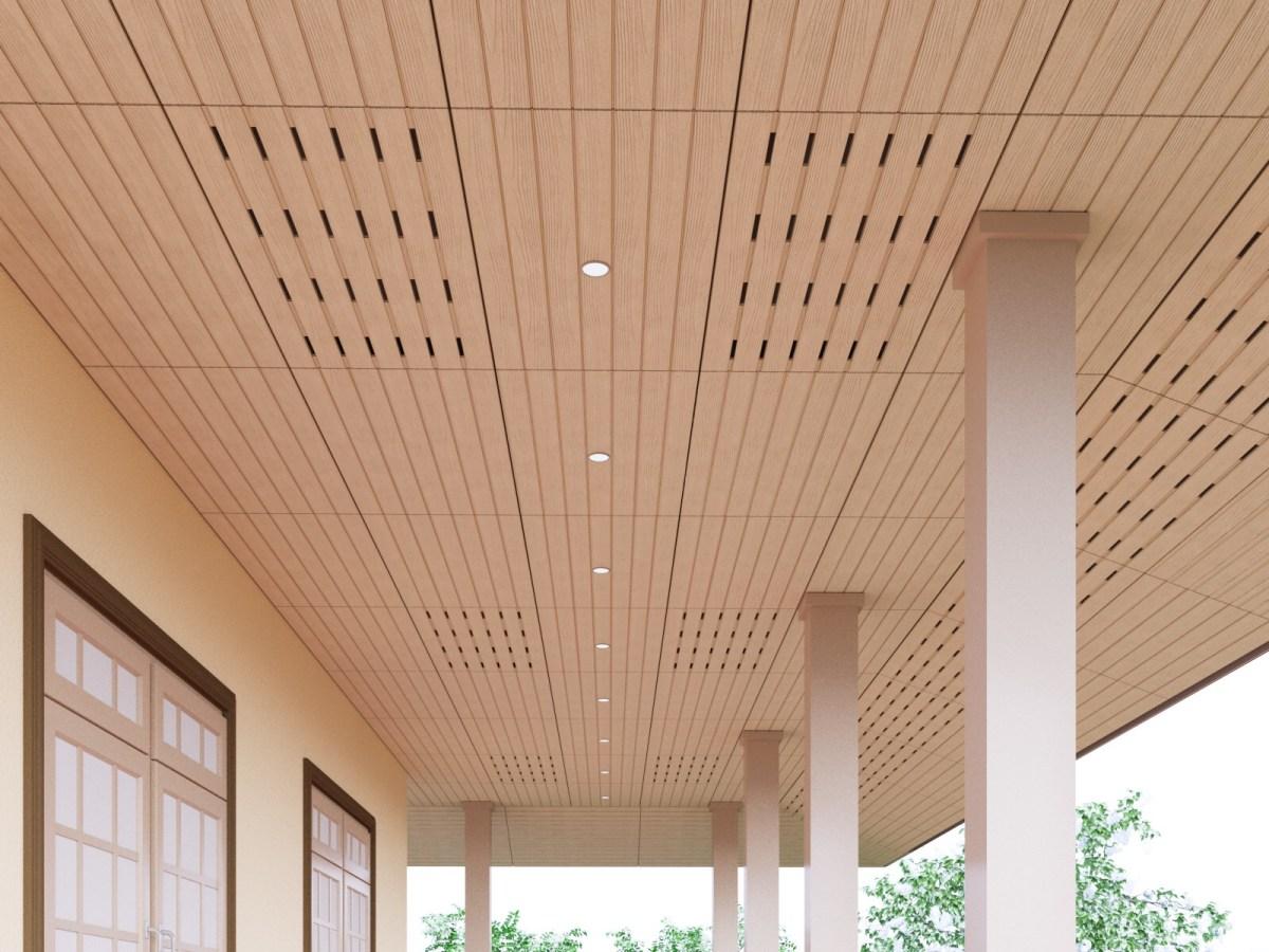 เติมเสน่ห์ให้บ้านผ่านสีสันหรือลวดลายฝ้า เพื่อสร้างลูกเล่นให้ดูไม่จำเจ 22 - ceiling