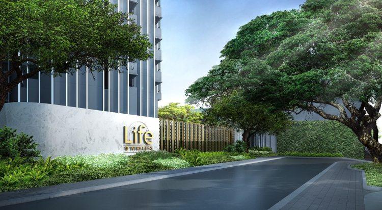 """LIFE ONE WIRELESS Front 1 750x412 7 เรื่องราว """"ถนนวิทยุ"""" ย่านนึงที่ไฮเอนด์ที่สุดในประเทศไทยที่คุณอาจยังไม่รู้"""