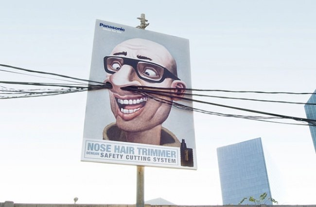1045405 19 650 9e9c15c592 1482220397 650x425 19 ป้ายโฆษณา (Billboard) สุดครีเอทที่ออกแบบอย่างสร้างสรรค์จนต้องจำแบรนด์ได้