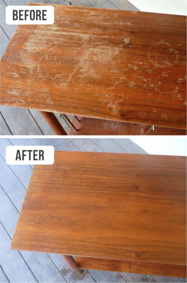 9 สูตรวิเศษทำความสะอาด บ้าน และ เฟอร์นิเจอร์ ให้เหมือนใหม่ (แต่ไม่ต้องซื้อใหม่) 14 -
