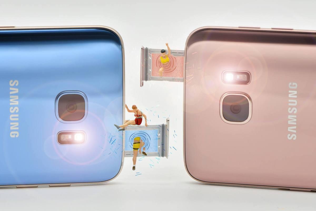 samsunggalaxys7edge3 เล่นเรื่องเล็กให้เป็นเรื่องใหญ่ผ่านภาพถ่ายสไตล์ Miniature People Photography กับคนตัวจิ๋ว x Samsung Galaxy S7 edge
