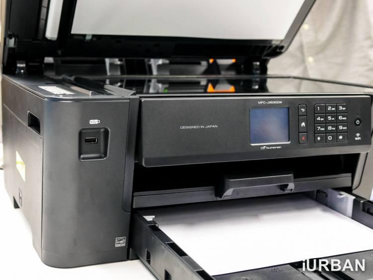 BrotherA3Printer 62 750x563 เครื่องปริ้นเตอร์ A3 + WiFi ปริ้น/สแกน/ถ่ายเอกสาร เอาใจ SME จาก Brother