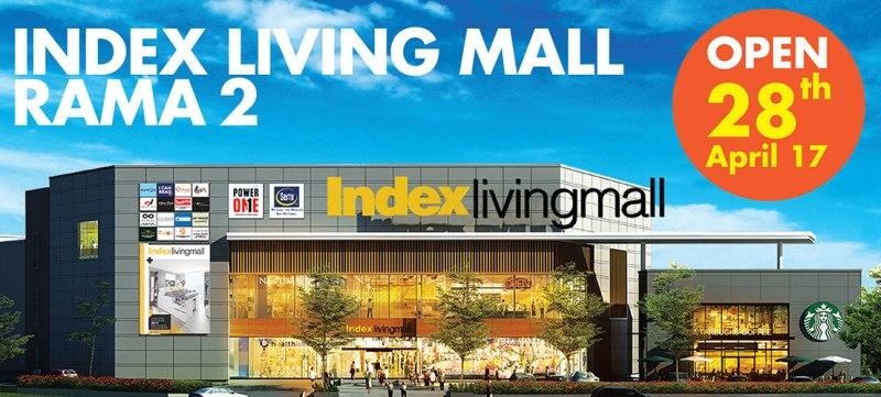 "Index Living Mall พระราม 2 เปิดใหม่ไม่ใช่แค่ ""ร้านเฟอร์นิเจอร์"" แต่เป็น ""Lifestyle Destination"" แนว URBAN STYLISH 79 - Index Living Mall (อินเด็กซ์ ลิฟวิ่งมอลล์)"