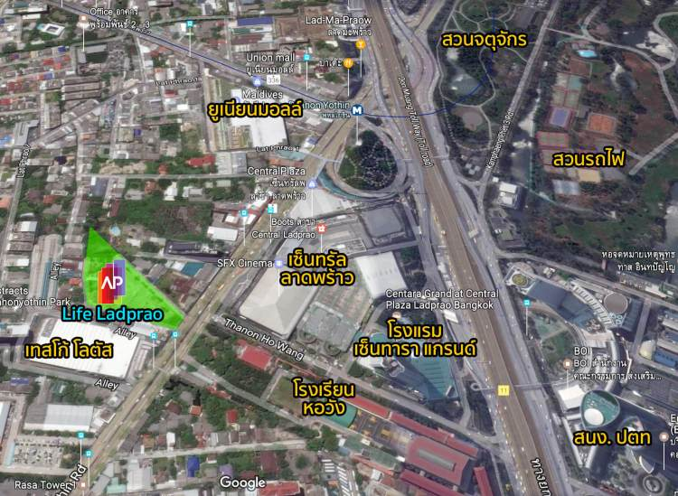 map lifeladprao 750x549 Life Ladprao   คอนโดวัยสร้างธุรกิจ ดีไซน์ฟังก์ชั่นเหมาะแก่ผู้อยู่อาศัยที่ต้องการให้ธุรกิจเติบโตอย่างรวดเร็ว