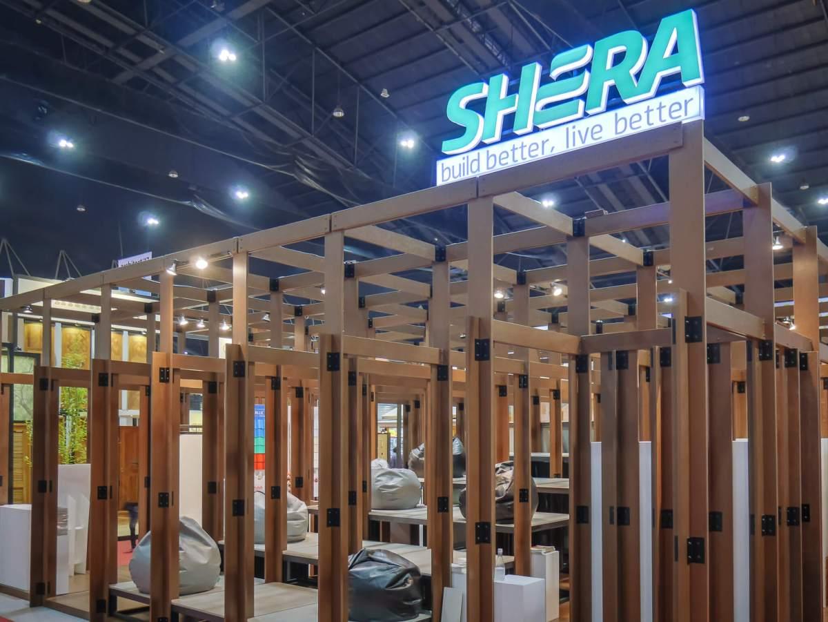 "shera main 08 ลบความทรงจำคำว่า ""ไม้ฝา"" เมื่อ ""เฌอร่า"" อวดบูธไม่มีฝา ชนะเลิศประกวดบูธ Creative ที่งานสถาปนิก'60"