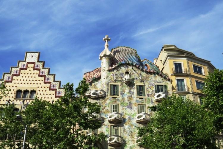 """""""บาร์เซโลน่า"""" เมืองของ """"เกาดี้"""" สถาปนิกผู้รังสรรค์ผลงานที่เลียนแบบธรรมชาติสู่ """"มรดกโลก"""" 30 - Casa batllo"""