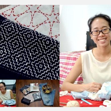 ศิลปะการปักผ้าซาชิโกะ (刺し子) หนึ่งในกิจกรรมน่าประทับใจจากงานตลาดนัดลานใบไม้ 25 - ข่าวประชาสัมพันธ์ - PR News