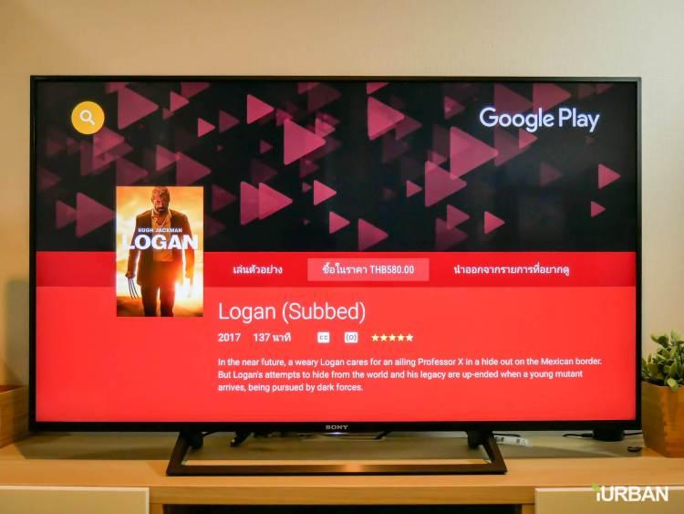 รีวิว SONY Android TV รุ่น X8000E งบ 26,990 แต่สเปค 4K HDR เชื่อมโลก Social กับทีวีอย่างสมบูรณ์แบบ 40 - Android