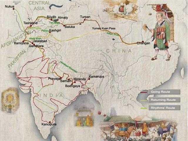 นครซีอาน...เมืองตั้งต้นของการเดินทางสู่ดินแดนตะวันตกของพระถังซัมจั๋ง 15 - ซีอาน