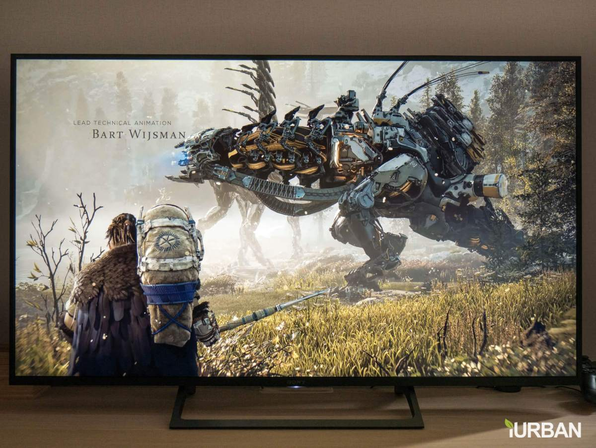 sonyx7000e 1 รีวิวภาพจริง SONY 4K HDR TV รุ่น X7000E เจน 2017 ตัวถูกสุดนี้ มีดีอะไรบ้าง?