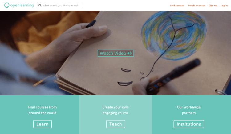 OpenLearning 750x438 ทำความรู้จัก MOOC (มู้ก) หลักสูตรเรียนฟรีออนไลน์ เรียนที่ไหนก็ได้แค่มีอินเตอร์เน็ต