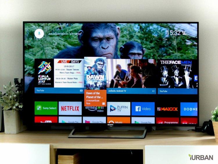 SONY X8500E 4K-HDR Android TV นวัตกรรมที่จะเปลี่ยนชีวิตกับทีวี ให้ไม่เหมือนเดิมอีกต่อไป 59 - Android