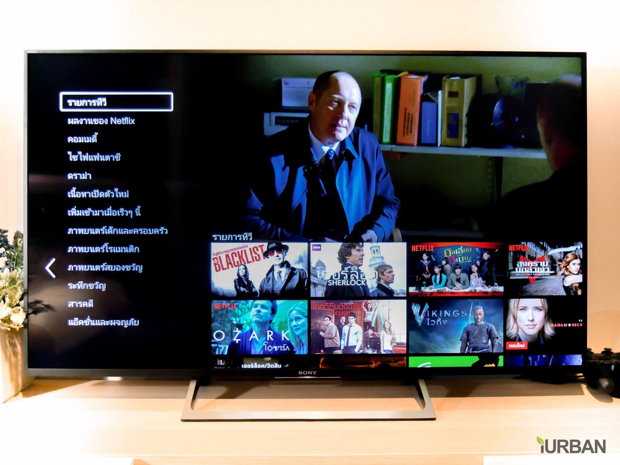 SONY X8500E 4K-HDR Android TV นวัตกรรมที่จะเปลี่ยนชีวิตกับทีวี ให้ไม่เหมือนเดิมอีกต่อไป 63 - Android