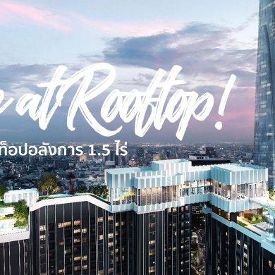 สำรวจทำเล New CBD แยกพระราม 9 พร้อมคอนโด Life ASOKE-RAMA9 ส่วนกลางเหนือชั้น Rooftop Facility ขนาด 1.5 ไร่ ใกล้ MRT 300 เมตร 52 - AP (Thailand) - เอพี (ไทยแลนด์)