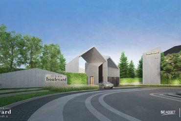 บางกอก บูเลอวาร์ด สาทร ปิ่นเกล้า 2 ชมบ้านหรูใจกลางราชพฤกษ์ ออกแบบสไตล์ Modern Nordic จาก SC Asset 20 - บ้านเดี่ยว