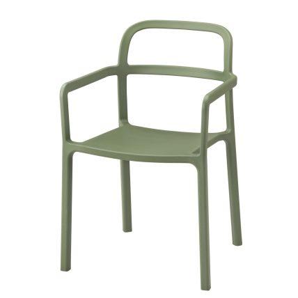 เก้าอี้มีที่วางแขน ราคา 1,950 บาท มีให้เลือก 2 สี ขาวและเขียว