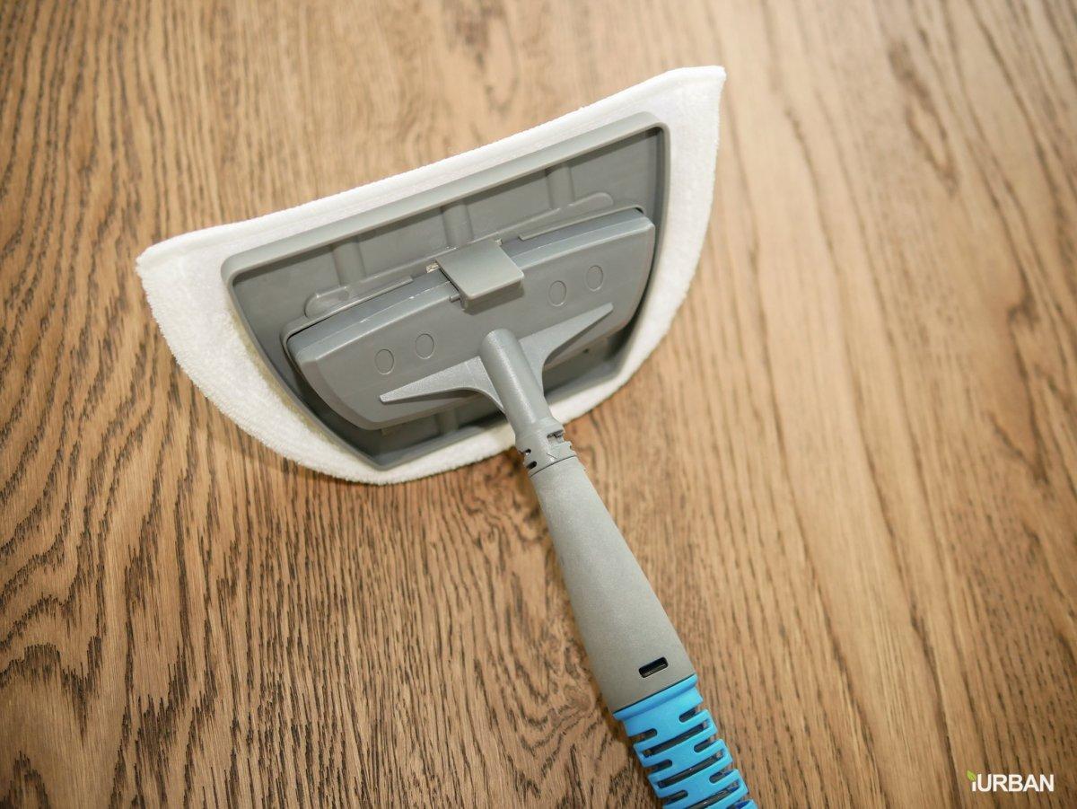 บ้านสะอาดโดยไม่ใช้สารเคมีด้วย Bissell PowerFresh Lift-Off ยับยั้งเชื้อโรคเพียงใช้น้ำเปล่า 43 - Bissell
