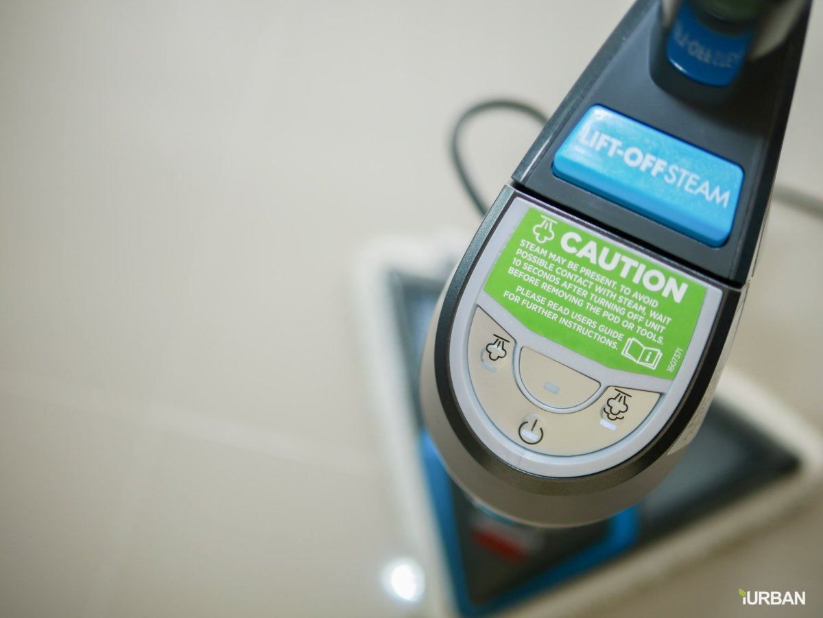 บ้านสะอาดโดยไม่ใช้สารเคมีด้วย Bissell PowerFresh Lift-Off ยับยั้งเชื้อโรคเพียงใช้น้ำเปล่า 29 - Bissell