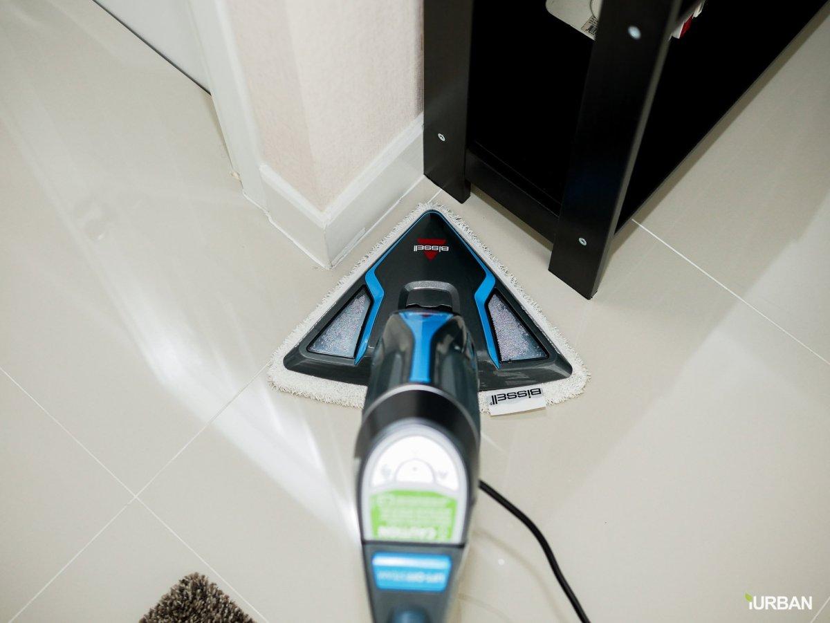 บ้านสะอาดโดยไม่ใช้สารเคมีด้วย Bissell PowerFresh Lift-Off ยับยั้งเชื้อโรคเพียงใช้น้ำเปล่า 20 - Bissell