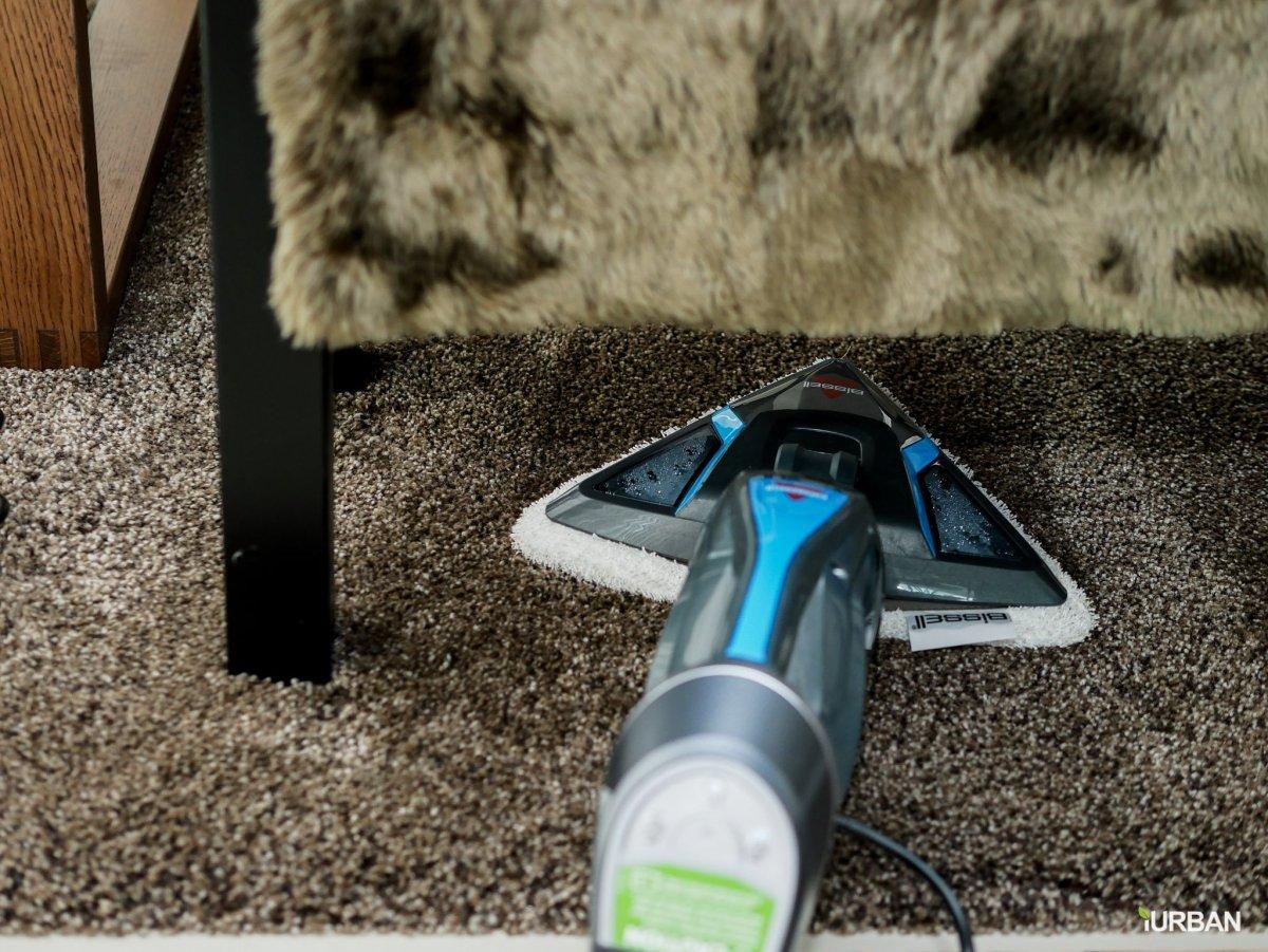 บ้านสะอาดโดยไม่ใช้สารเคมีด้วย Bissell PowerFresh Lift-Off ยับยั้งเชื้อโรคเพียงใช้น้ำเปล่า 22 - Bissell