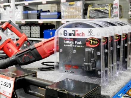 ซื้อสว่านกระแทกไร้สาย Giant Tech ปกติ 1,990 เหลือ 1,590 แถมยังลด 50% แบตเตอรี่ จาก 799 เหลือ 399 บาท