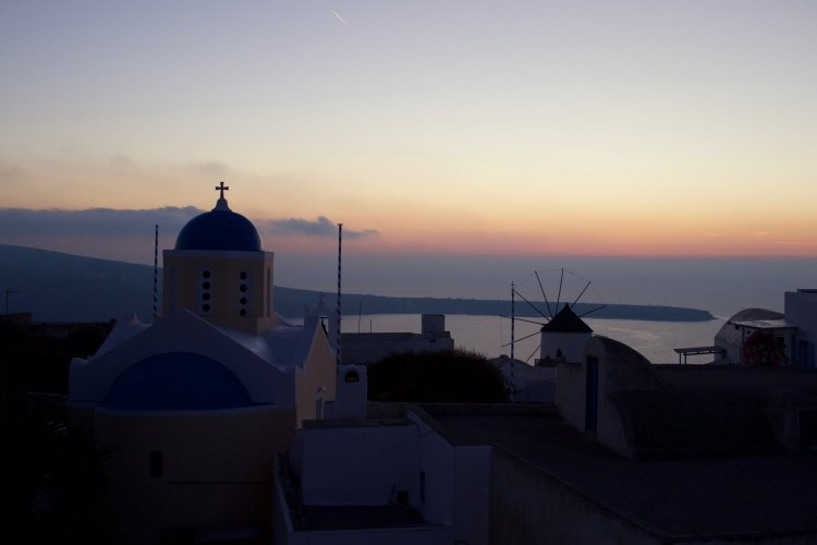 """เมื่อลืมตาขึ้น ฉันก็รู้ทันทีว่านี่คือ... """"พระอาทิตย์ตกดินที่ซานโตรินี"""" 16 - travel homepage"""