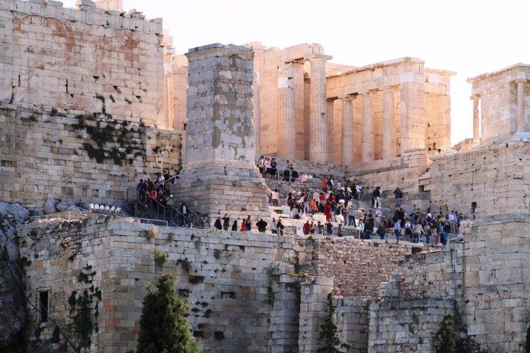 """อารยธรรมยุโรปทั้งหมด เริ่มต้นที่นี่.. """"อะโครโปลิสแห่งเอเธนส์"""" (Acropolis of Athens) 22 - วิหารพาร์เธนอน"""