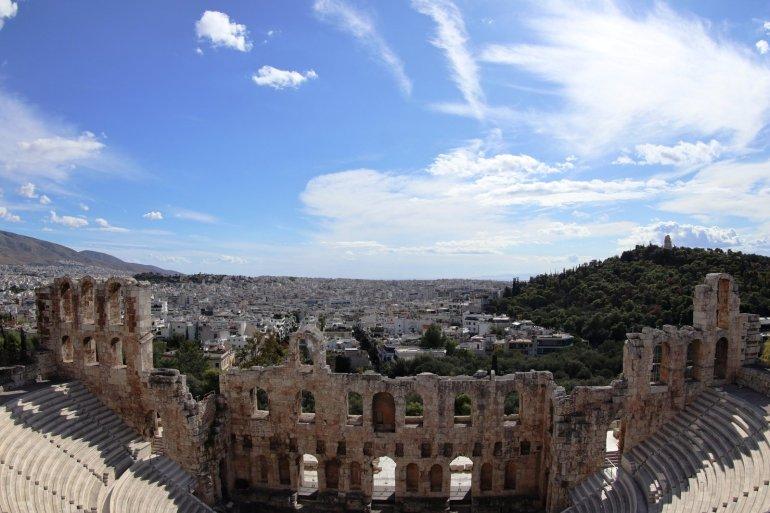 """อารยธรรมยุโรปทั้งหมด เริ่มต้นที่นี่.. """"อะโครโปลิสแห่งเอเธนส์"""" (Acropolis of Athens) 28 - วิหารพาร์เธนอน"""