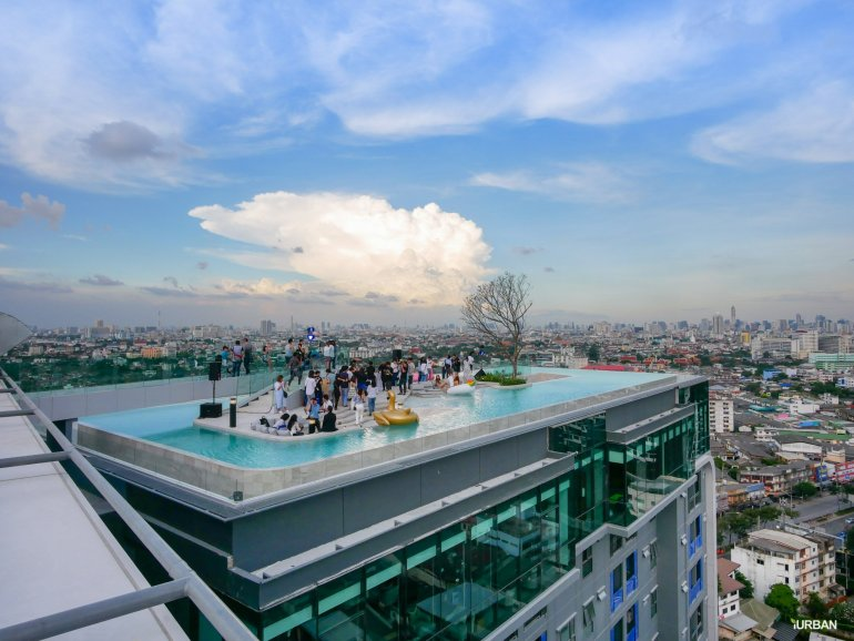 'White Cloud Pool Party' ชวน Blogger ชมโครงการ IDEO THA PHRA INTERCHANGE ปาร์ตี้วิว Rooftop 24 - Ananda Development (อนันดา ดีเวลลอปเม้นท์)