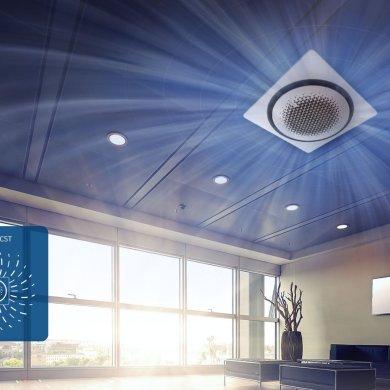 แอร์ Samsung 360 Cassette ดีไซน์นวัตกรรมใหม่ แอร์ฝังเพดานทรงกลมตัวแรกของโลก เย็นทั่ว-หัวไม่หนาว 20 - Premium