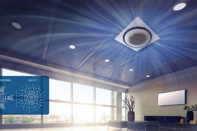 แอร์ Samsung 360 Cassette ดีไซน์นวัตกรรมใหม่ แอร์ฝังเพดานทรงกลมตัวแรกของโลก เย็นทั่ว-หัวไม่หนาว 16 - แอร์บ้าน (เครื่องปรับอากาศ)