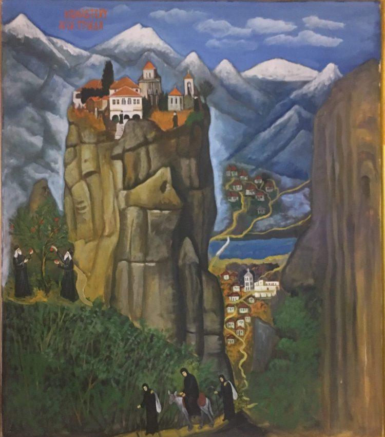 Meteora.... อารามลอยฟ้า สถานที่ต้นแบบอาณาจักร The Mountain and The Vale ในซี่รี่ย์ Game of Thrones 18 - Meteora