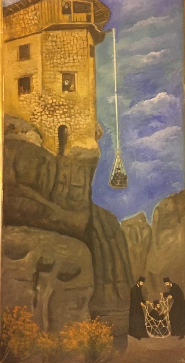 Meteora.... อารามลอยฟ้า สถานที่ต้นแบบอาณาจักร The Mountain and The Vale ในซี่รี่ย์ Game of Thrones 17 - Meteora