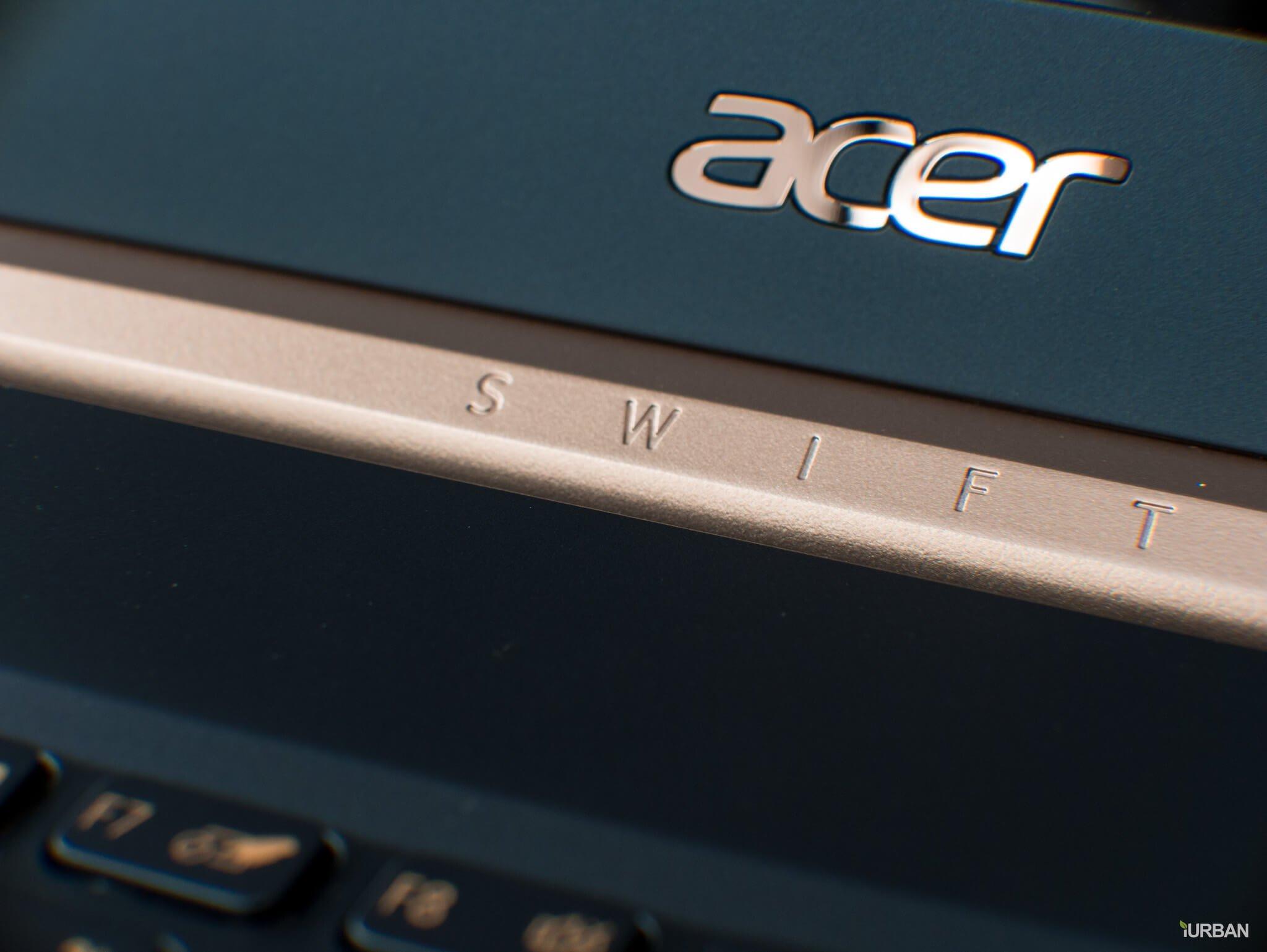 รีวิวโน๊ตบุ๊ค ACER SWIFT 5 เจนใหม่ 2018 แรงแต่เบาเว่อร์ Intel Core i7 หนักแค่ 0.97Kg 35 - Acer