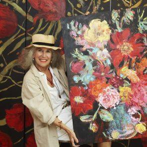 """นิทรรศการ """"Arianna Caroli : Artist in Residence"""" ถ่ายทอดพลังแห่งดอกไม้งามผ่านงานศิลปะ 7-18 ก.พ. นี้ ที่เซ็นทรัล เอ็มบาสซี 14 - Arianna Caroli"""