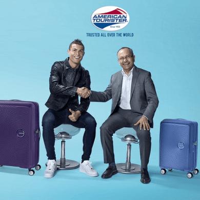 American Tourister จับมือกับตำนานลูกหนัง Cristiano Ronaldo เป็น Brand Ambassador 2018 16 -