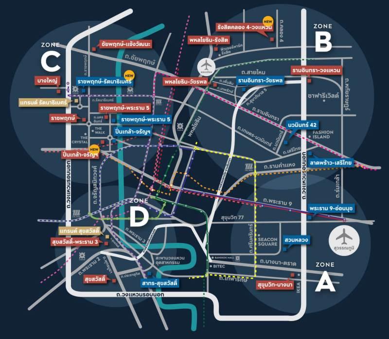 "livevolution maps LIVEVOLUTION ชม 5 ทาวน์โฮม โครงการล้ำสมัยในทำเลดีที่สุด ""บ้านกลางเมือง & PLENO"" สุขสวัสดิ์ สาทร"