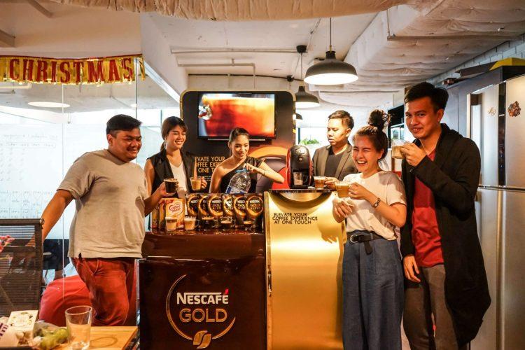 nescafe 27 750x500 บังเอิญชิม NESCAFÉ GOLD BARISTA แก้วละแค่ 3 บาท เครื่องก็ได้ฟรี ใครมีออฟฟิศคุ้มมาก จัดเลย