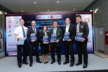 งานแสดงสินค้าและเทคโนโลยีระบบรางรถไฟฟ้า The 4th RISE & RAIL Asia Expo 2018 8 -